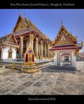 Wat Phra Kaeo (Grand Palace) - Bangkok, Thailand (HDR)