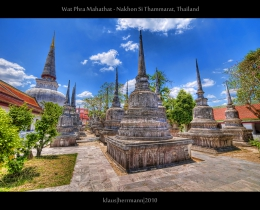 Wat Phra Mahathat - Nakhon Si Thammarat, Thailand (HDR)