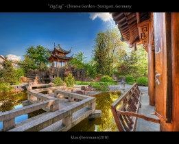 ZigZag - Chinese Garden - Stuttgart, Germany (HDR)