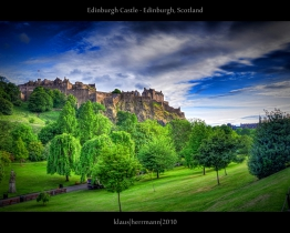 Edinburgh Castle - Edinburgh, Scotland (HDR)