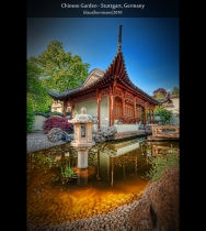 Chinese Garden - Stuttgart, Germany (HDR)