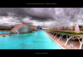City of Arts and Sciences - Valencia, Spain (HDR Panorama)