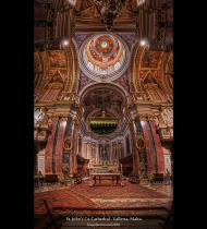 St. Johns Co-Cathedral - Valletta, Malta (HDR Vertorama)