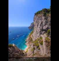 Via Krupp - Capri, Italy (HDR Vertorama)