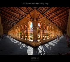 The Cloister - Monreale Abbey, Italy (HDR)