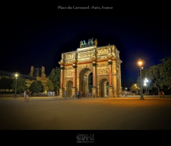 Place du Carrousel - Paris, France (HDR)