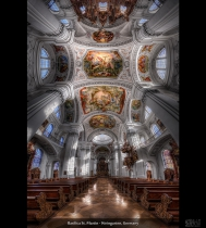 Basilica St. Martin - Weingarten, Germany (HDR Vertorama)