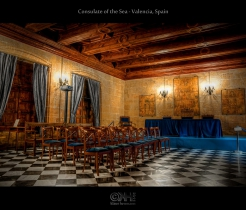 Consulate of the Sea - Valencia, Spain (HDR)