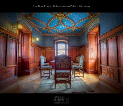 The Blue Room - Bebenhausen Palace, Germany (HDR)