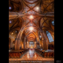 Matthias Church - Budapest, Hungary (HDR Vertorama)
