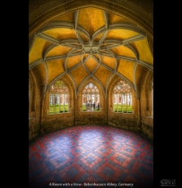 A Room with a View - Bebenhausen Abbey, Germany (HDR)
