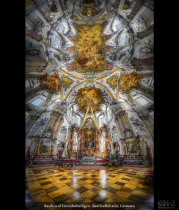 HDR vertorama of Vierzehnheiligen Basilica