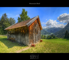 Mountain Shed (HDR)