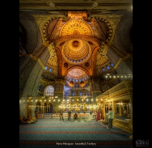 New Mosque - Istanbul, Turkey (HDR Vertorama)
