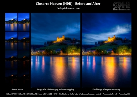 Before-and-after: HDR Before and After - Closer to Heaven