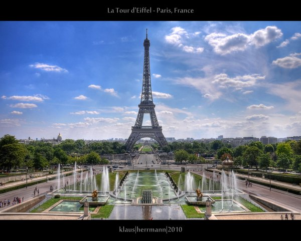 La Tour d'Eiffel - Paris, France (HDR)