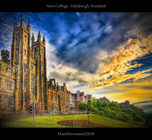 New College - Edinburgh, Scotland (HDR)