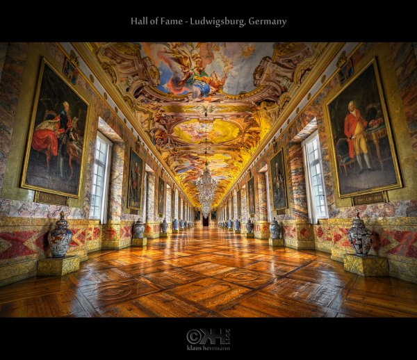 HDR image from Ludwigsburg Palace (Residenzschloss Ludwigsburg)