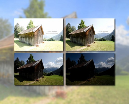 HDR Cookbook - Pics to play with - Mountain Shed (HDR) -  featured - 01