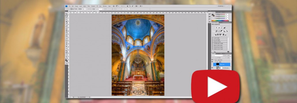 HDR Making-of - Santorini Cathedral (HDR) -  featured - 01