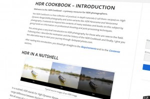 HDR Cookbook - teaser - 01