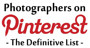 Photographers on Pinterest - The Definitive List