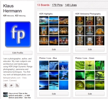 HDR Photography at Pinterest - farbspiel
