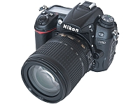 Nikon D7000 Digital SLR Camera with AF-S DX 18-105mm f/3.5-5.6G ED VR Lens (2010) - Source: Pixel8 (Wikipedia)