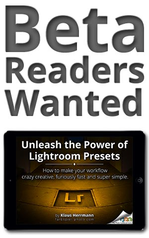 Unleash the Power of Lightroom Presets - Sign up as a beta reader and get the full manuscript for free.