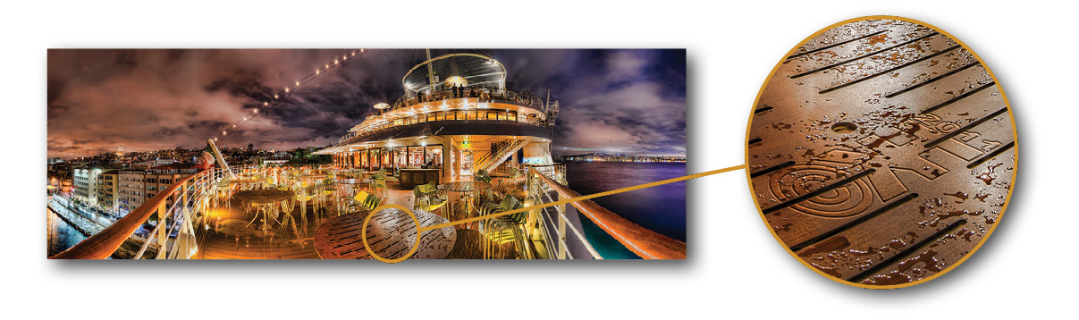 Creative Watermarking - How to Integrate Your Signature into Your Photos - Example 3 - Take me to Istanbul (HDR Panorama)
