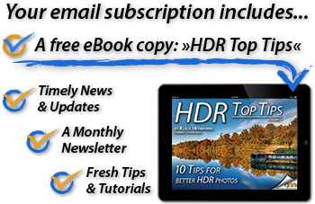 Join us nw and get a free copy of the eBook HDR Top Tips.