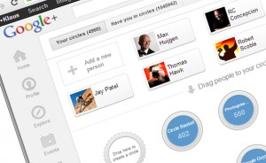 "Making friends - In Google+, contacts are grouped in so-called circles, and the act of making somebody your contact is called ""circling""."