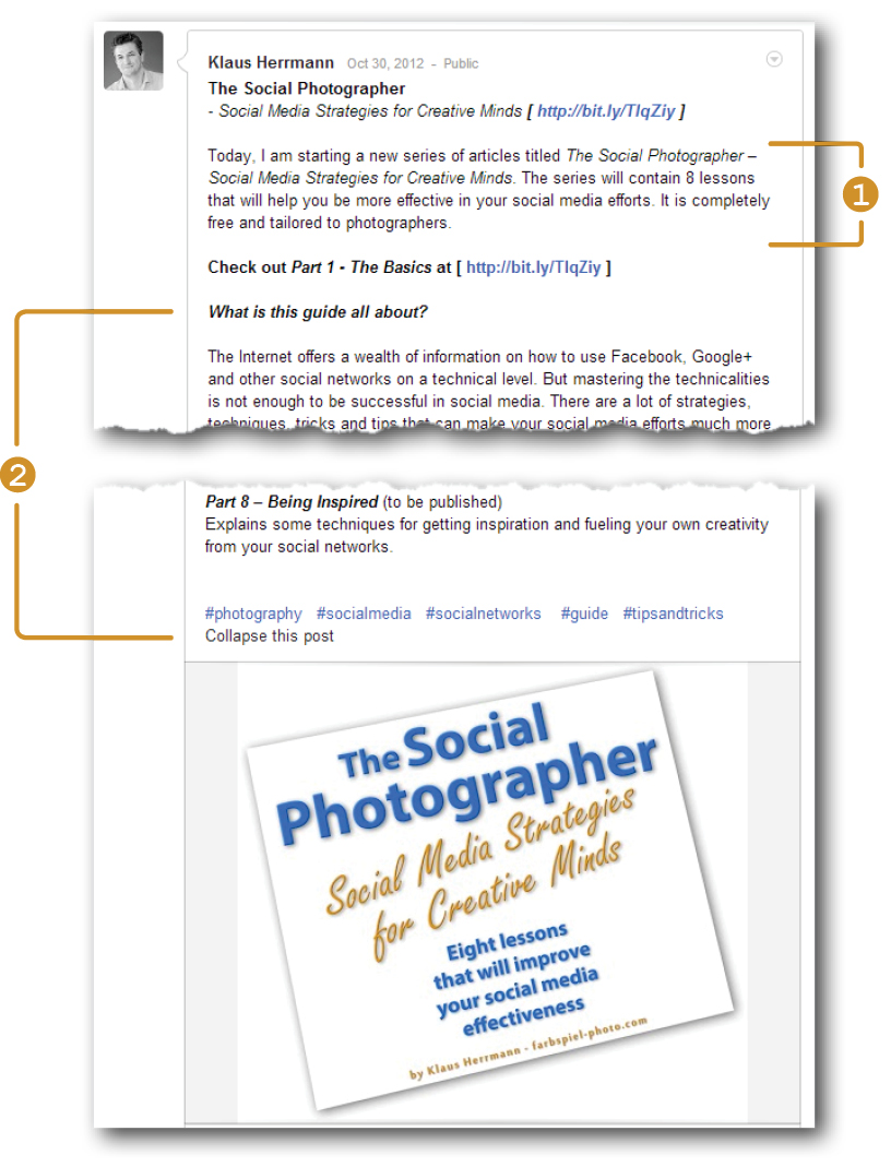 The Social Photographer - Write a brief summary