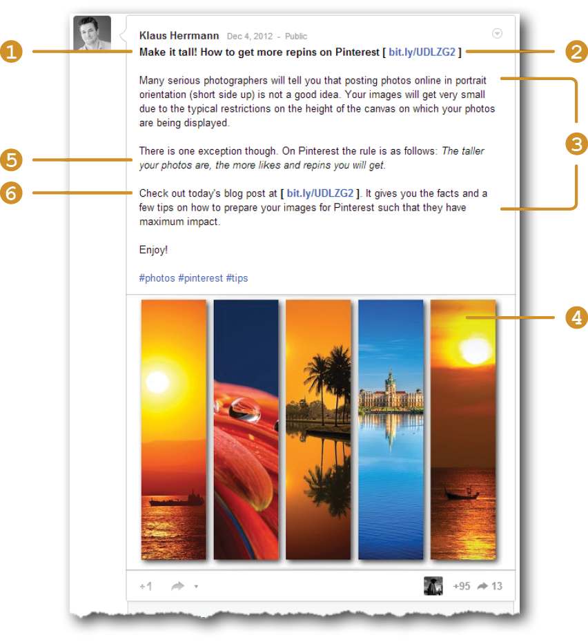 The Social Photographer - Structure your posts to make them more readable