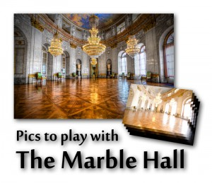 The Marble Hall - Pics to play with - Download the source files of this HDR image and test your post-processing skills