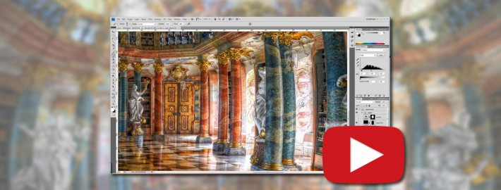 The Making of – The Library (HDR Vertorama) -  featured - 01