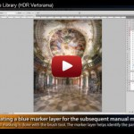 The Making of - The Library (HDR Vertorama) - YouTube Screenshot