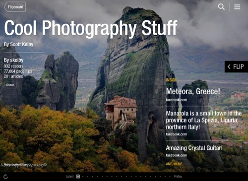 Cool Photography Stuff Flipboard Magazine by skelby (Scott Kelby)
