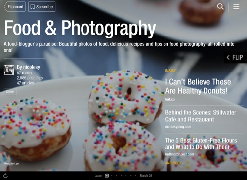Food & Photography Flipboard Magazine by nicolesy (Nicole S. Young)