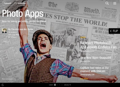 Photo Apps Flipboard Magazine by Christel van der Boom