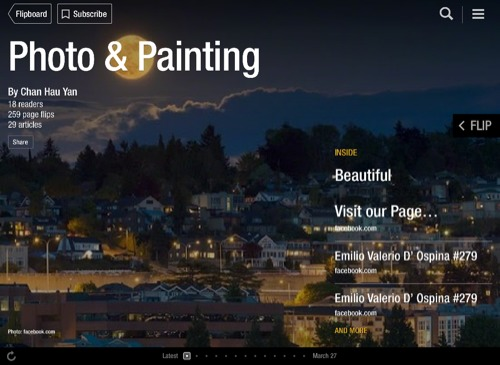 Photo & Painting Flipboard Magazine by Chan Hau Yan