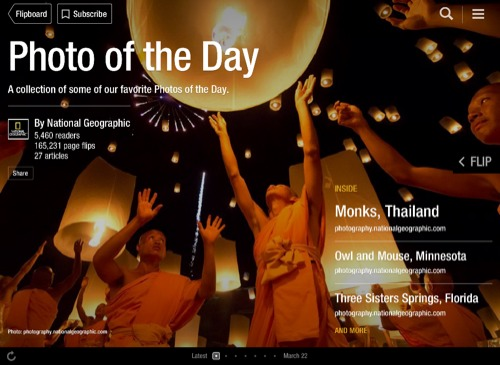 Photo of the Day Flipboard Magazine by National Geographic