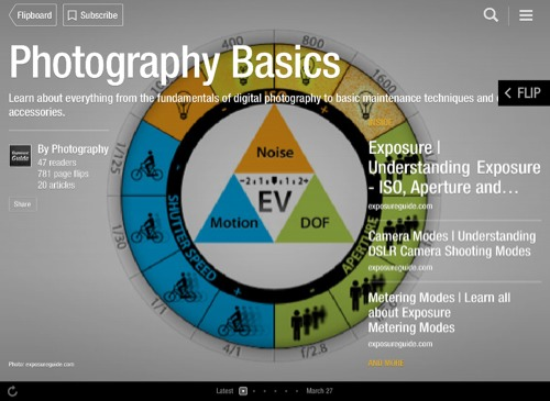 Photography Basics Flipboard Magazine by Photography