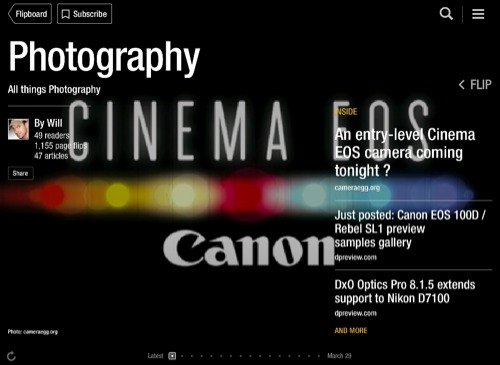 Photography Flipboard Magazine by Will