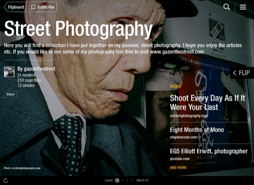 Street Photography Flipboard Magazine by gazonthestreet