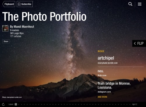 The Photo Portfolio Flipboard Magazine by Mandi Maenhout