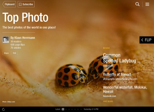 Top Photo Flipboard Magazine by Klaus Herrmann