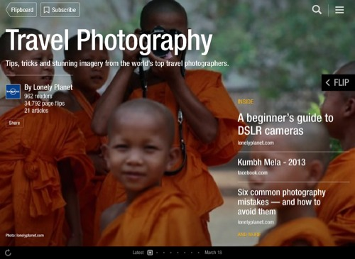 Travel Photography Flipboard Magazine by Lonely Planet