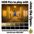 HDR Pics to play with - Into the Open