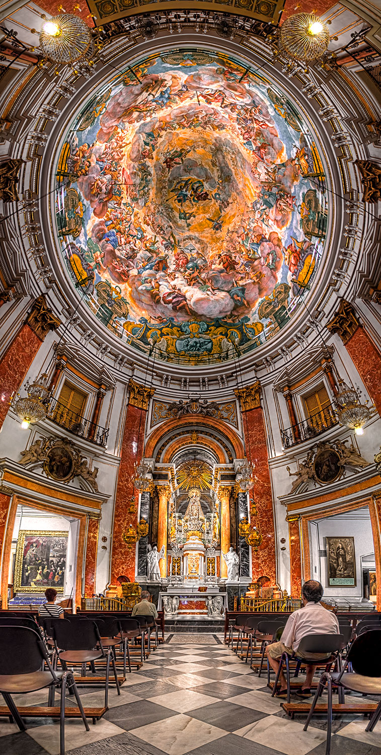 Basilica of the Virgin (HDR Vertorama)